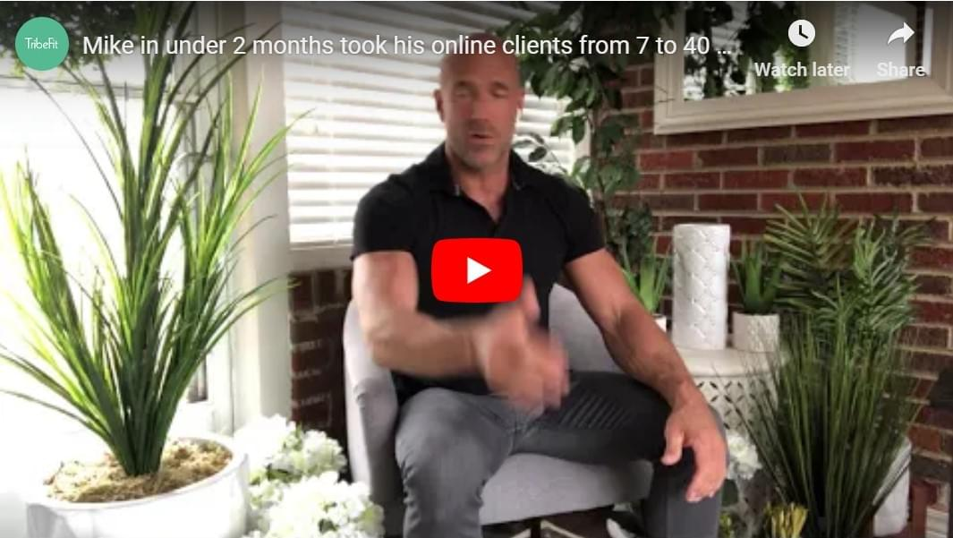 Mike online clients from 7 to 40 clients