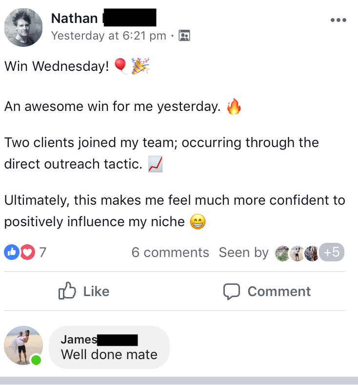 tribefit testimony by nathan